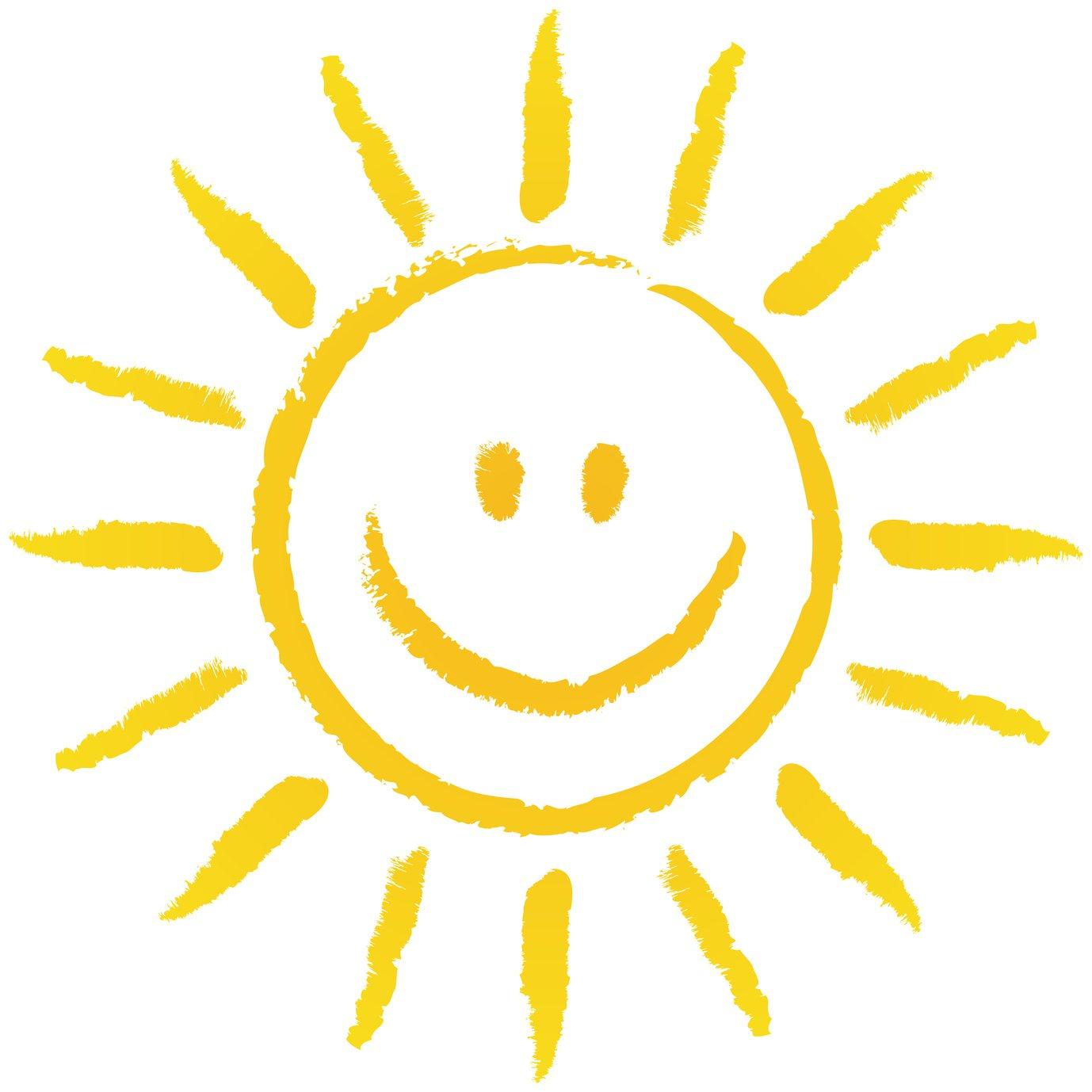 Happiness sunshine